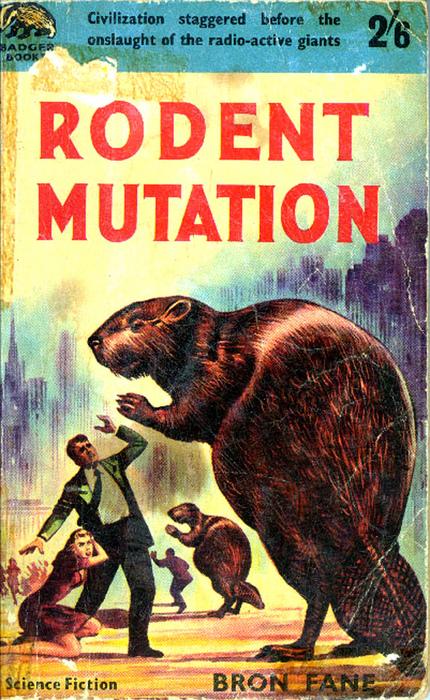Mutant beaver ninjas.