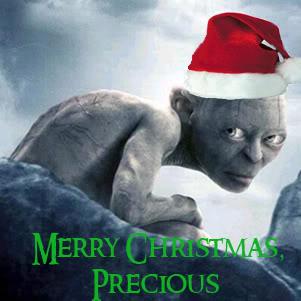 ChristmasGollum